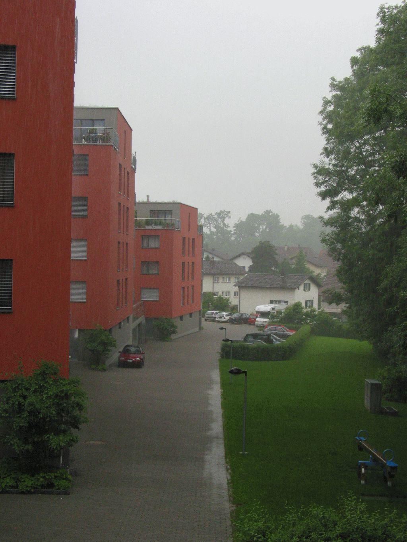 Heute wiedermal Regen