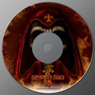 Baphomets Fluch 2.5 - CD Cover