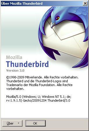 Thunderbird 3 Logo